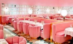 伦敦最有名的高颜值轻奢网红餐厅,确定不要来打卡吗?