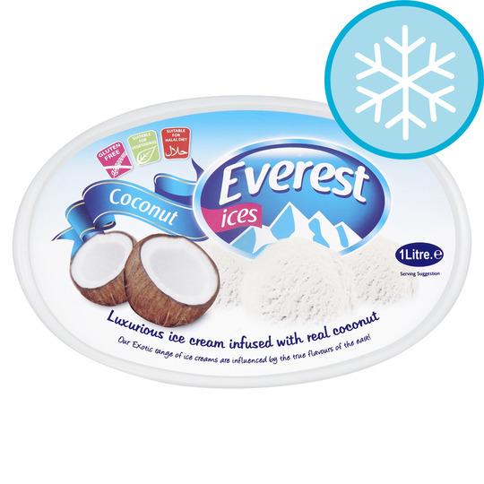 Everest Ices Coconut Ice Cream 1 Litre
